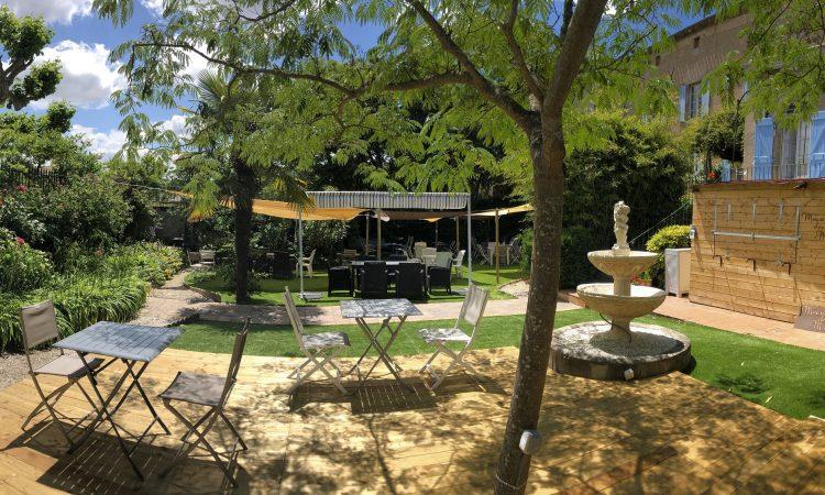 Restaurant au jardin de Maison de Mallast